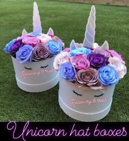 Unicorn hatbox